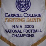 """""""Carroll College Fighting Saints Banners"""""""